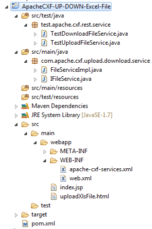 1_ApacheCXF-UP-DOWN-Excel-File_Project_Structure_In_Eclipse