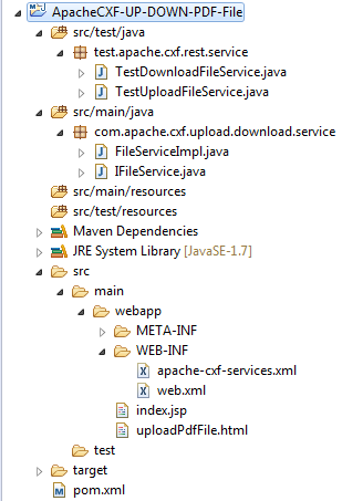 1_ApacheCXF-UP-DOWN-PDF-File_Project_Structure_In_Eclipse