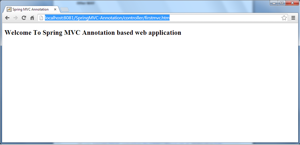 2_SpringMVC-Annotation-direct-result