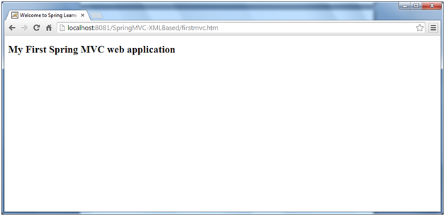 2_SpringMVC-XMLBased-direct-result