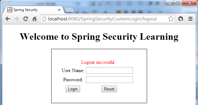 how to use spring security login page wirh database