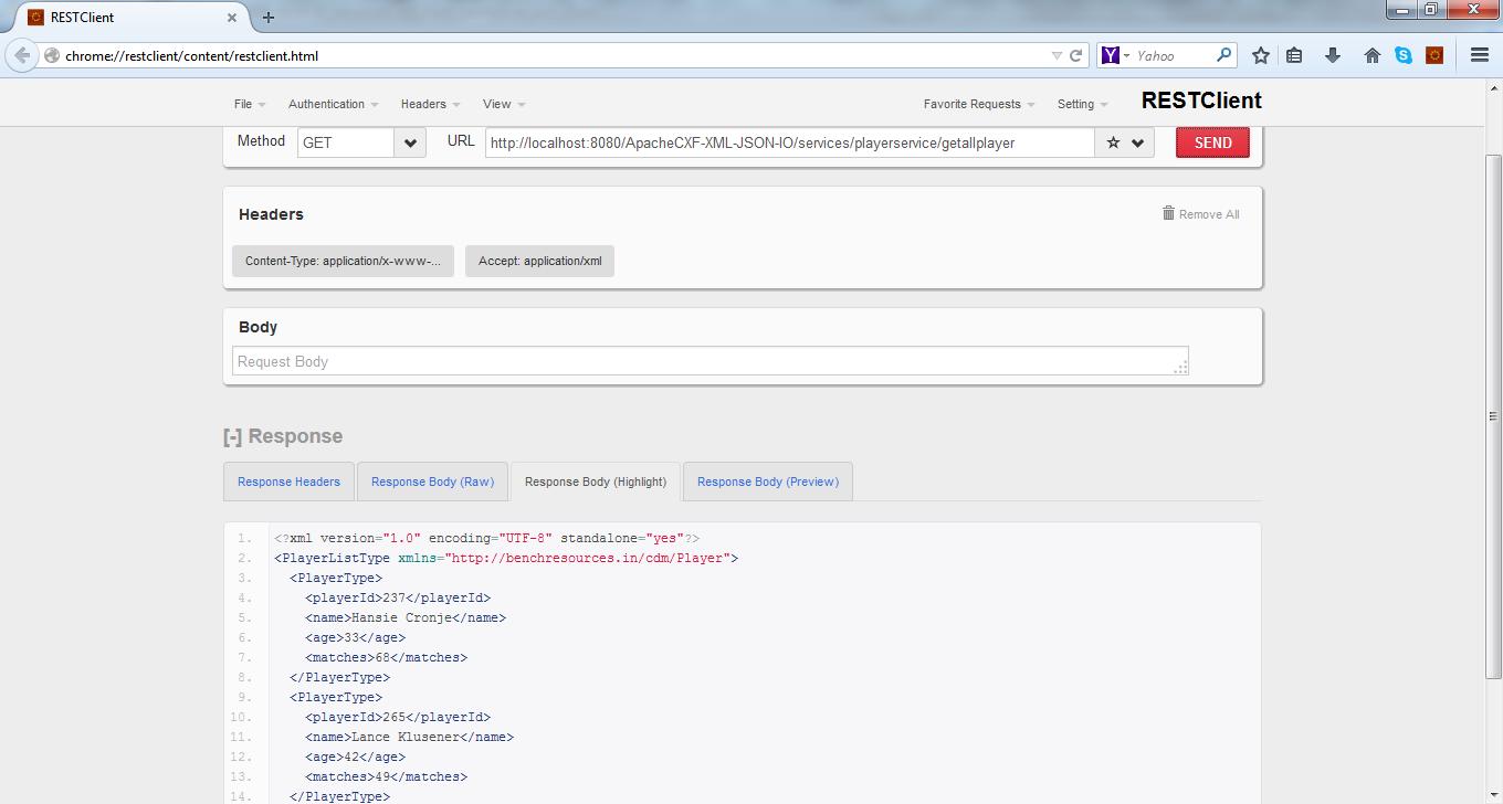MF_7_ApacheCXF-XML-JSON-IO_advanced_rest_client_getallplayer_xml
