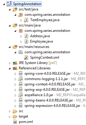 SpringAnnotationResource