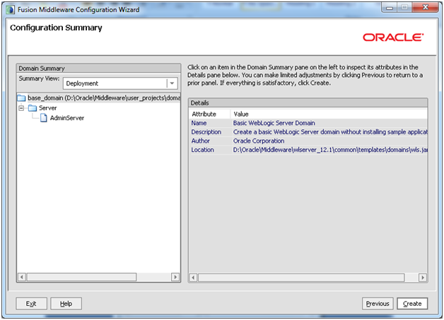 23_Oracle_Weblogic_12c_Installation_domain_creation_final_create