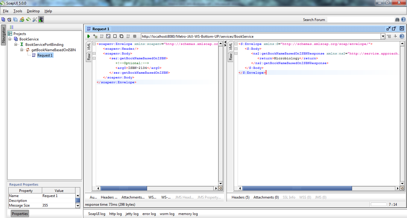 5_Metro-JAX-WS-Bottom-UP_Soap_ui_testing