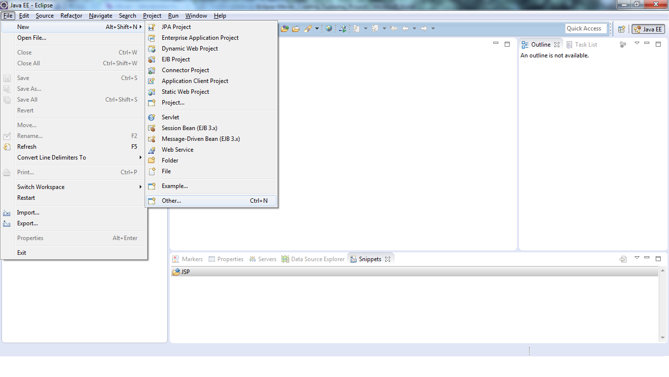 1_Eclipse-Maven_Creating_Exploring_Project_open_eclipse