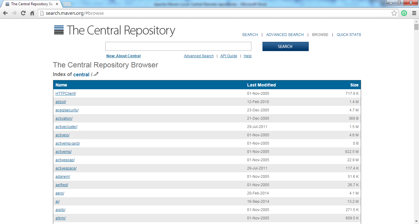 4_Apache-Maven-Repo-location_central_repository_new_site