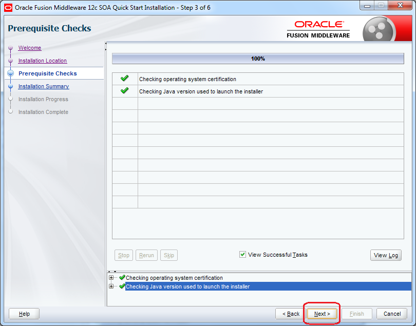 8_SOA_12c_Installation_steps_quick_wizard_step_3