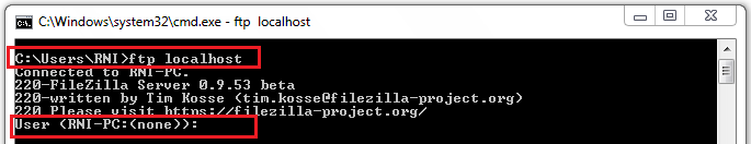 14_FileZilla_Client_to_access_Local_FTP_Server_on_Windows_7_machine_ftp_localhost
