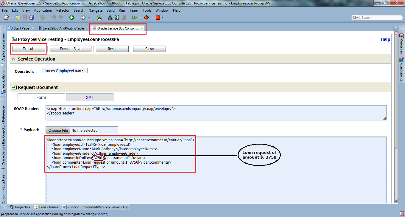 43_OSB-12c_Java_Callout_and_Routing_Table_example_testing_Run_Execute