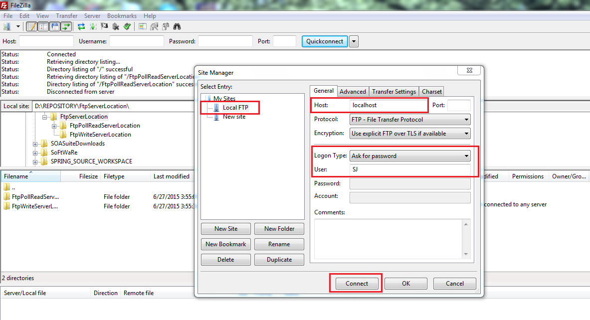 9_FileZilla_Client_to_access_Local_FTP_Server_on_Windows_7_machine_new_site_manager