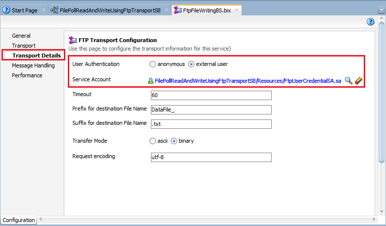 18_OSB-12c_File_Polling_Reading_Writing_using_FTP_Transport_after_setting_Service_Account_in_BS_7d