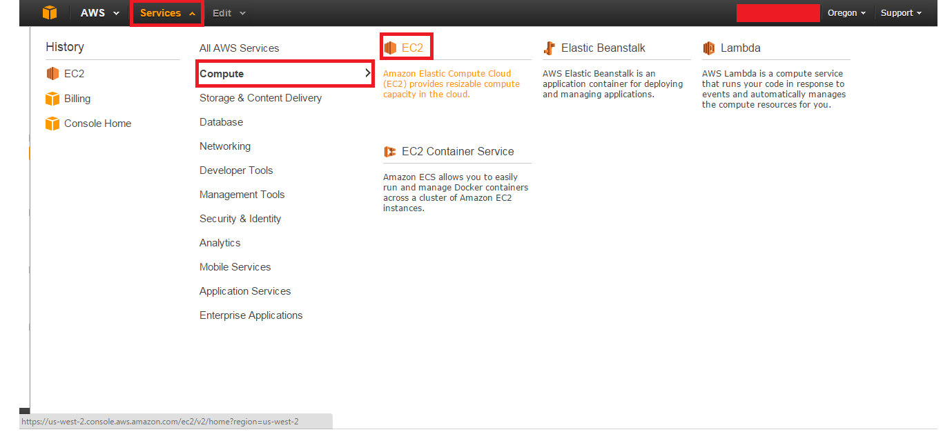 0_aws_linux_instance_creation_service_select