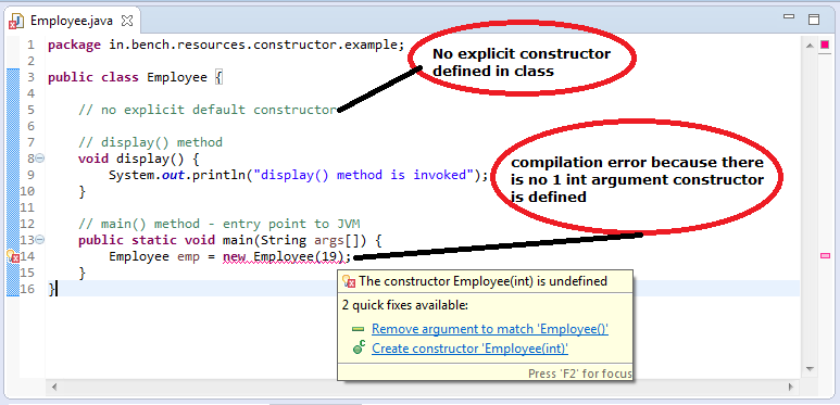 1_Java_Default_Constructor_compilation_error