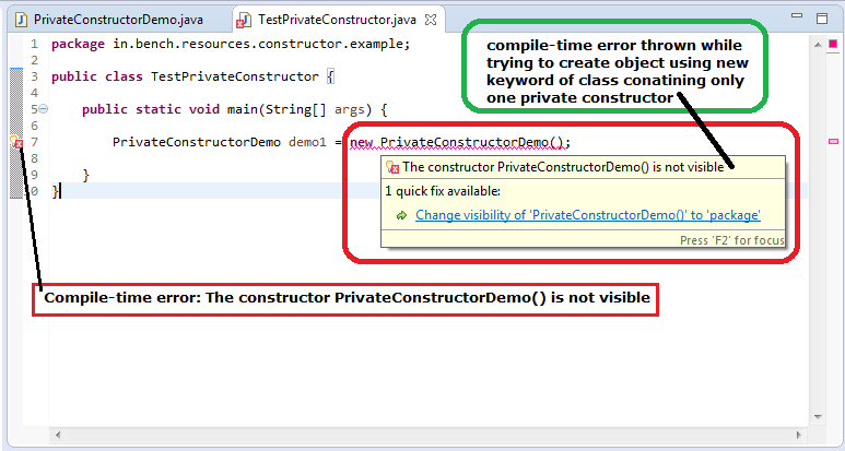 2_Java_Private_Constructor_test_class_for_object_creation_not_possible