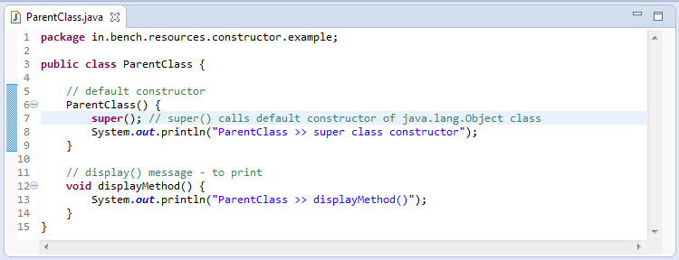 2_Static_constructor_in_java_parent_class