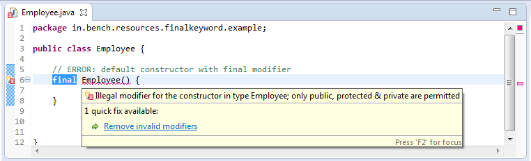 9_Interview_question_final_keyword_final_constructor_error