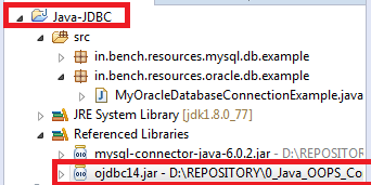 5_Include_jars_into_classpath_in_Eclipse_IDE_ojdbc14_jar_included_in_classpath_in_Eclipse_IDE