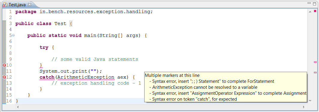 Interview question and answer on Exception Handling in Java